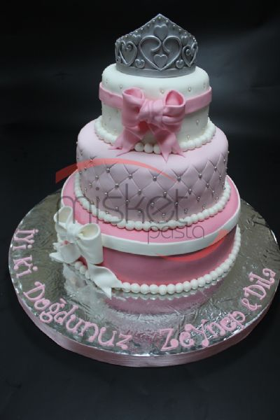 prenses tacı pastası