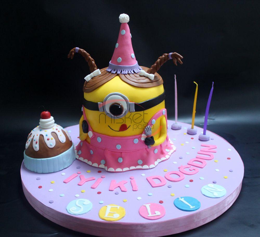 Bebek 199 Ocuk Pastaları Gt Kız 199 Ocukları İ 231 In Gt Minion Kız